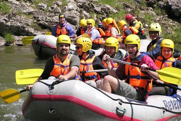 Rafting - spływ pontonami
