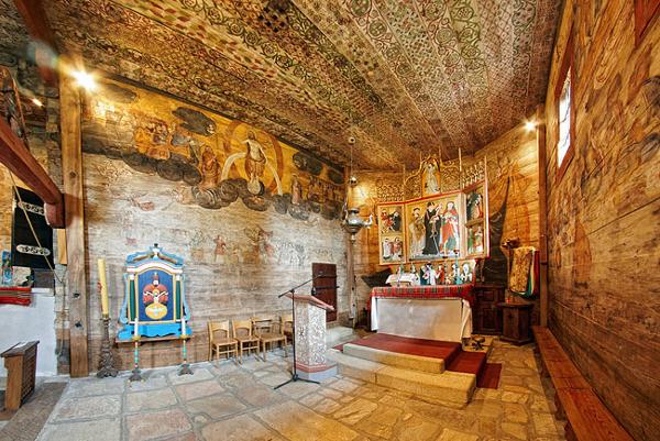Drewniane kościoły południowej Małopolski