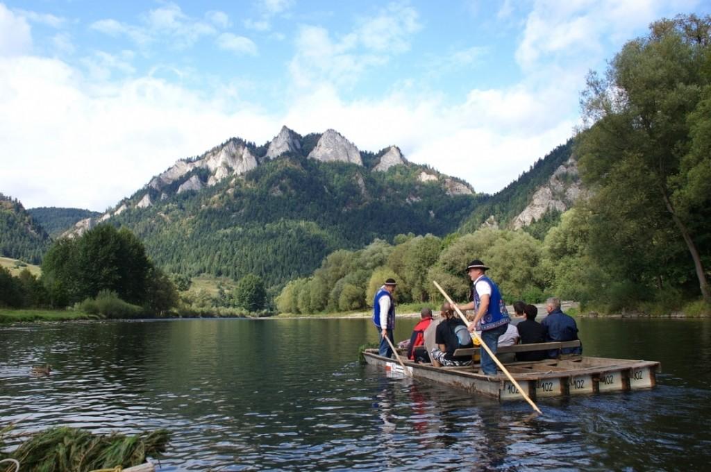 Wycieczki - Spływ Dunajcem